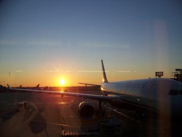 Airplane_Sunset